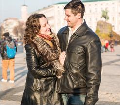 Олександр Гречко учасник «КЛУБУ МІЛЬЙОНЕРІВ «М.С.Л.» з дружиною Мариною